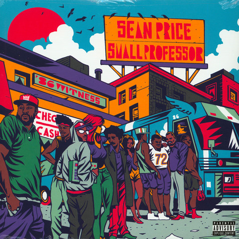 Sean Price & Small Professor - 86 Witness Red Colored Vinyl Edition