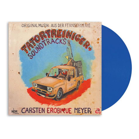 Carsten Erobique Meyer - OST Tatortreiniger Soundtracks HHV Exclusive Blue Vinyl Edition