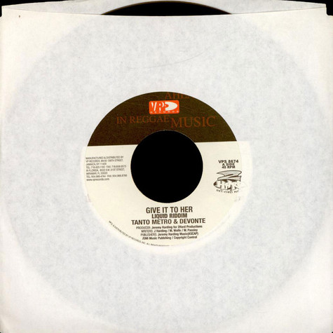 Tanto Metro & Devonte / Lady Saw - Give It To Her / Tell Me What You Like