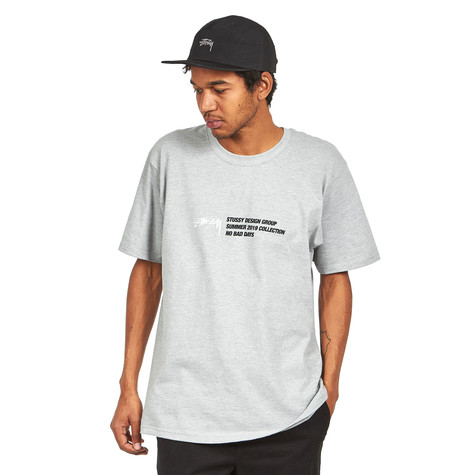 9471a1923e0 Stüssy - Design Group Tee (Grey Heather) | HHV