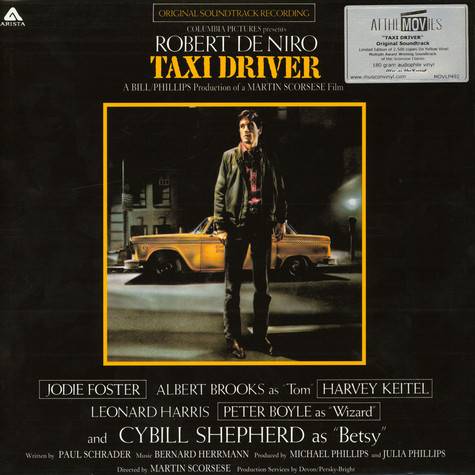 V.A. - OST Taxi Driver Limited Numbered Yellow Edition
