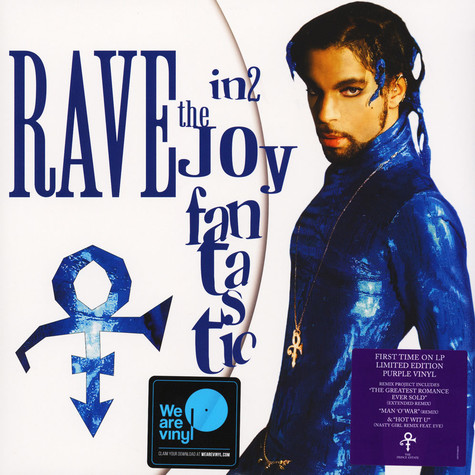 Prince - Rave In2 The Joy Fantastic Extended Purple Vinyl Edition