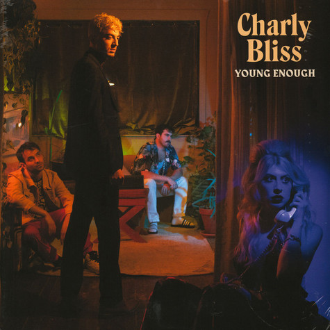 Charly Bliss - Young Enough Blue Vinyl Edition