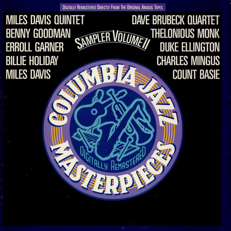 V.A. - Columbia Jazz Masterpieces Sampler Volume II