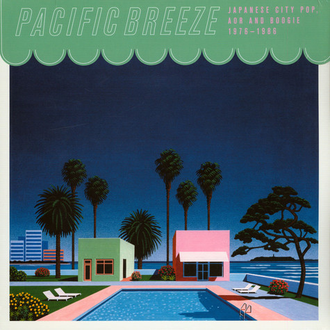 V.A. - Pacific Breeze: Japanese City Pop, AOR & Boogie 1976-1986 Black Vinyl Edition