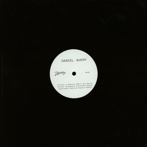 Daniel Avery - Song For Alpha Remixes Part One