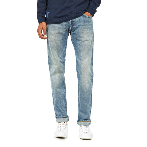 Edwin - ED-55 Regular Tapered Jeans Red Listed Selvage Denim, 14 oz