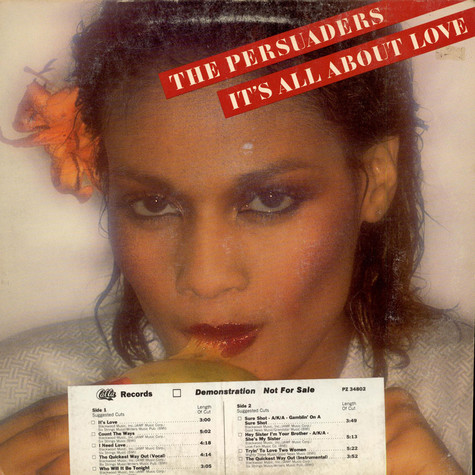 Persuaders, The - It's All About Love