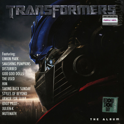V A Ost Transformers The Album Record Store Day 2019