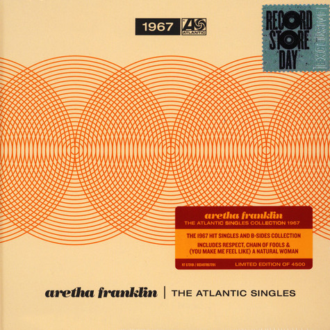 Aretha Franklin - The Atlantic Singles Collection 1967-1970 Record Store Day 2019 Edition