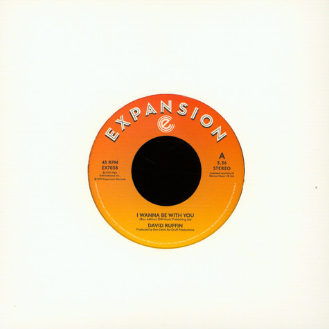 David Ruffin - I Wanna Be With You / Still In Love With You