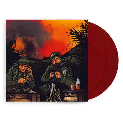 Dennis Real & Diggy Mac Dirt - Leathermangrooves Deluxe Colored Vinyl Edition