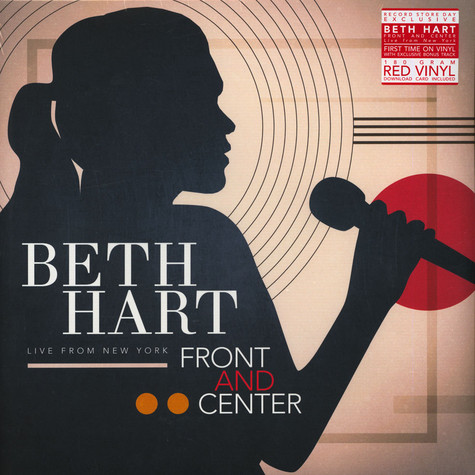 Beth Hart - Front And Center - Live From New York Record Store Day 2019 Edition