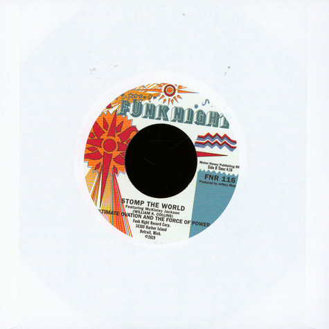 Ultimate Ovation & The Force Of Power - Baby Girl / Stomp The World Feat. McKinley Jackson