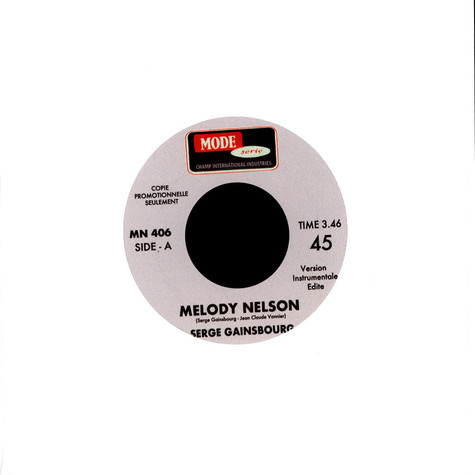 Serge Gainsbourg - Melody Nelson / Cargo Culte Instrumental Edits