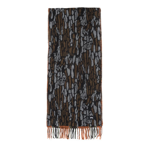 Stüssy - Tree Bark Wool Scarf