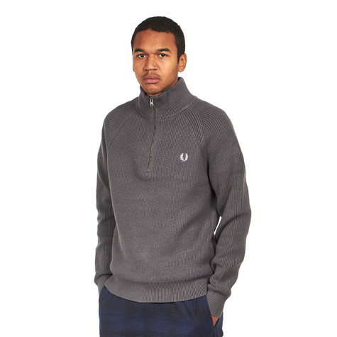 Fred Perry - Half Zip Knitted Track Jacket
