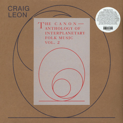 Craig Leon - Anthology Of Interplanetary Folk Music Volume 2: The Canon