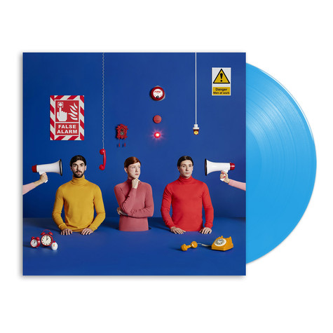 Two Door Cinema Club - False Alarm HHV Exclusive Blue Vinyl Edition