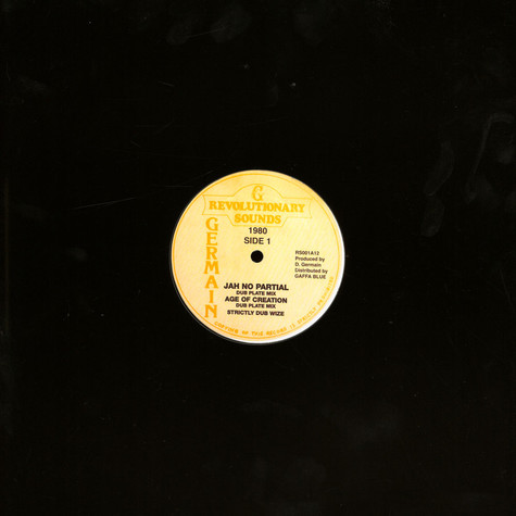 Revolutionaries - Strictly Dub Wize EP