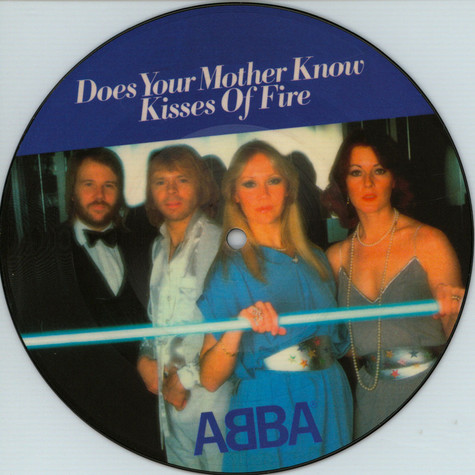 "ABBA - Does Your Mother Know Limited 7"" Picture Disc Edition"