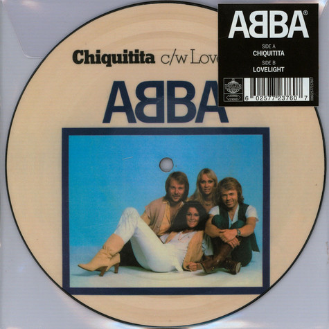 "ABBA - Chiquitita Limited 7"" Picture Disc Edition"