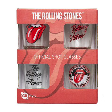 Rolling Stones, The - Mix Shot Glasses Set Of 4