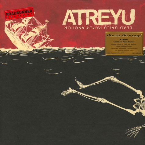 Atreyu - Lead Sails Paper Anchor Colored Vinyl Edition