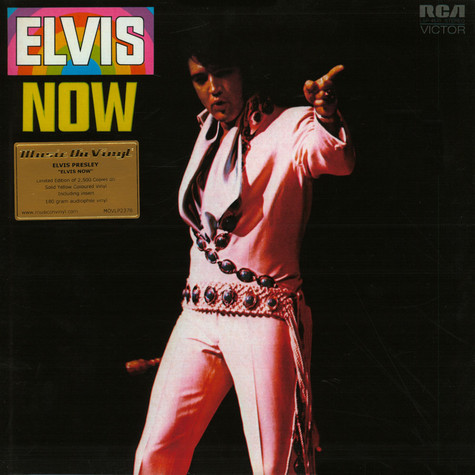 Elvis Presley - Elvis Now Colored Vinyl Edition