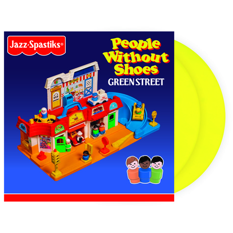 Jazz Spastiks & People Without Shoes - Green Street Deluxe Colored Vinyl Edition