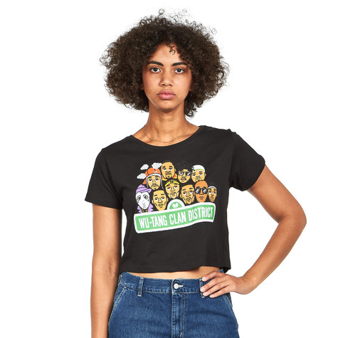 Wu-Tang Clan - Sesame Street Cropped Women T-Shirt