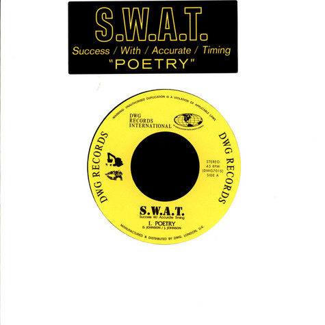 S.W.A.T. - Poetry