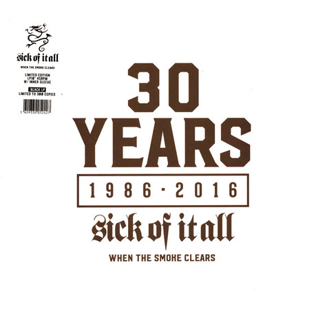 Sick Of It All - When The Smoke Clears