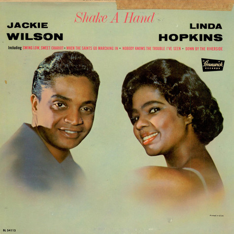 Jackie Wilson And Linda Hopkins - Shake A Hand