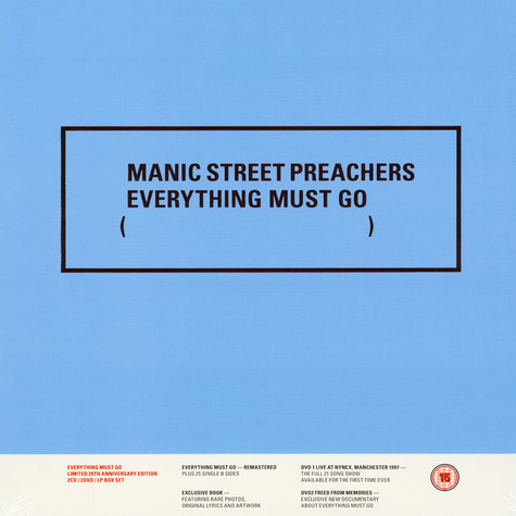 Manic Street Preachers - Everything Must Go Deluxe Edition