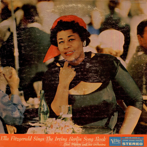Ella Fitzgerald - Ella Fitzgerald Sings The Irving Berlin Songbook
