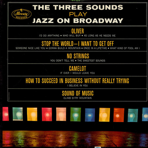 Three Sounds, The - Play Jazz On Broadway