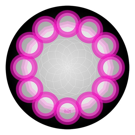 Glowtronics - Sacred Orbs UV Blacklight Slipmat