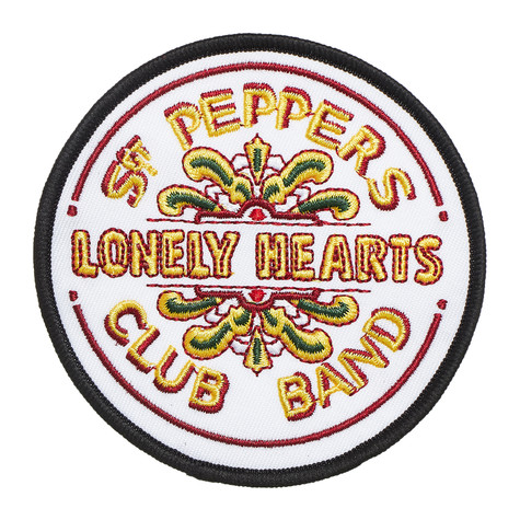 Beatles, The - Sgt Pepper Drum Standard Patch (Iron On)