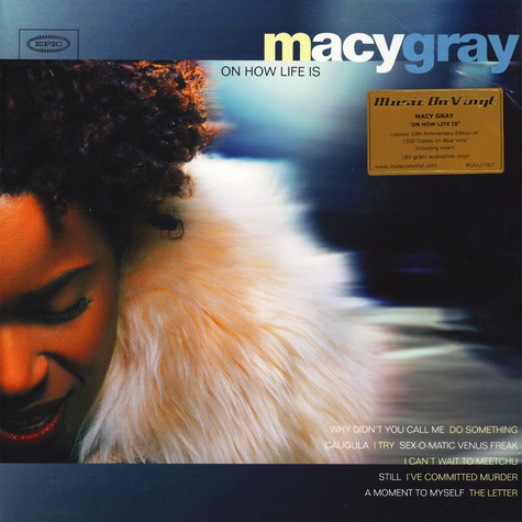 Macy Gray - On How Life Is Coloured Vinyl Edition