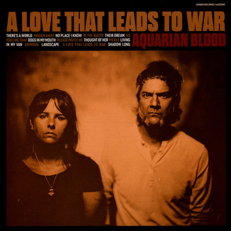 Aquarian Blood - A Love That Leads To War Black Vinyl Edition