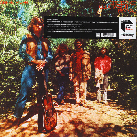 Creedence Clearwater Revival - Green River Half Speed Mastered Edition