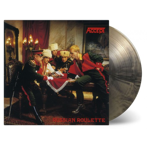 Accept - Russian Roulette Limited Numbered Gold & Black Vinyl Edition