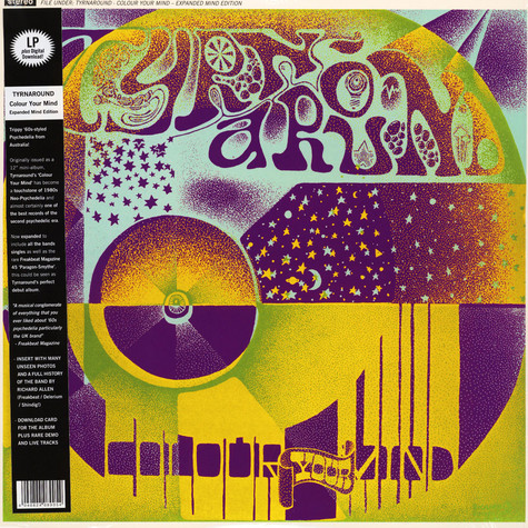 Tyrnaround - Colour Your Mind Expanded Mind Edition