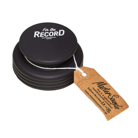 MasterSounds x HHV - Turntable Weight Stabilizer For The Record Edition