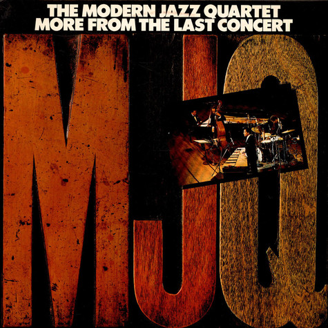 Modern Jazz Quartet, The - More From The Last Concert