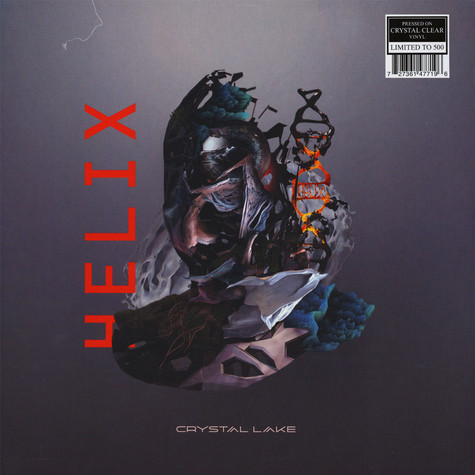 Crystal Lake - Helix Clear Vinyl Edition