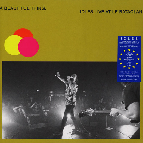 IDLES - A Beautiful Thing Green Vinyl Edition