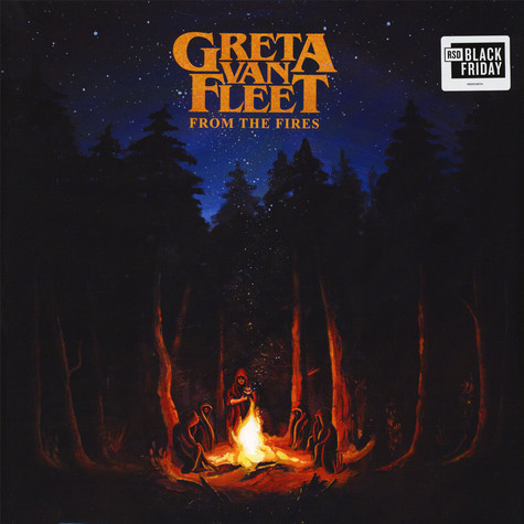 Greta Van Fleet - From The Fires Yellow Black Friday Record Store Day 2019 Edition