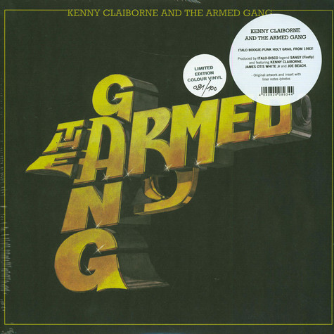 Armed Gang, The - Kenny Clairborne And The Armed Gang HHV Exclusive Golden Vinyl Edition